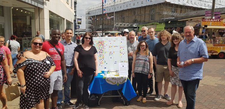 Doncaster Brexitometer July 2018 - Best for Doncaster (photo with video link)