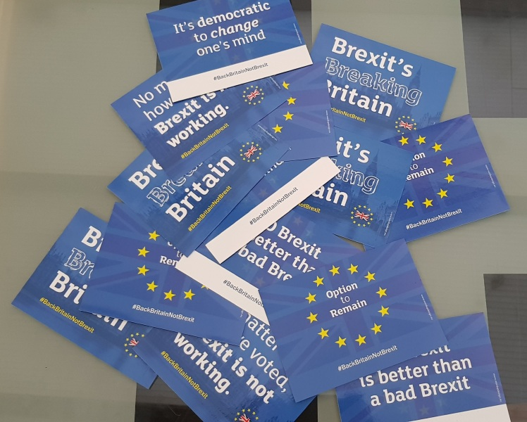 Postcards | Write to your MP | Stop Brexit | People's Vote