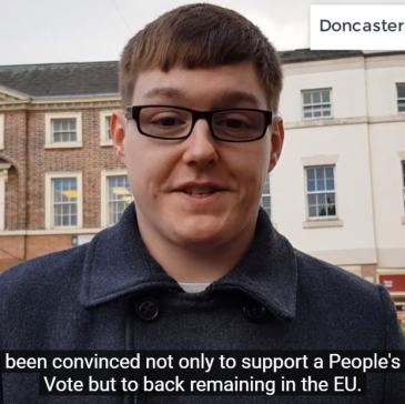 Doncaster Leave voter switches to Remain | Doncaster Brexitometer | Doncaster Free Press