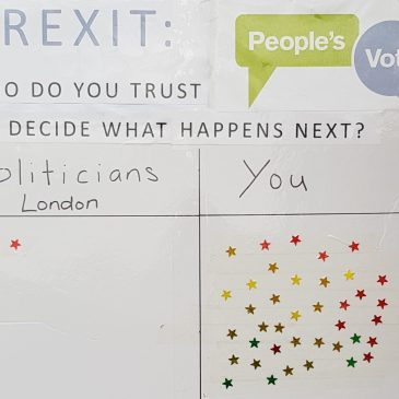 Doncaster Brexitometer | Doncaster people have no trust in politicians | Brexit