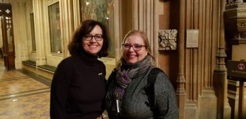 Frederika Roberts and Caroline Flint | Best for Doncaster | Yorkshire travels to Westminster