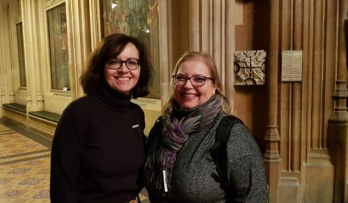 Frederika Roberts and Caroline Flint | Best for Doncaster | Yorkshire travels to Westminster