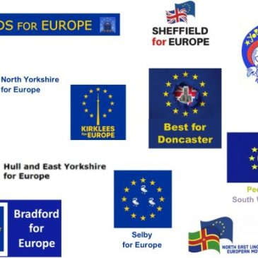 Yorkshire for Europe logos
