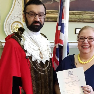 Frederika Roberts | British Citizenship because of Brexit | Doncaster | Majid Khan Civic Mayor
