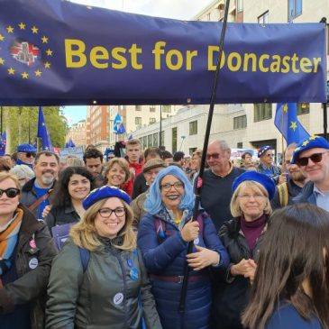 Best for Doncaster at London People's Vote March Oct 2019